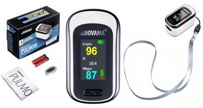 Pulsoksymetr medyczny napalcowy NOVAMA PULMOXI