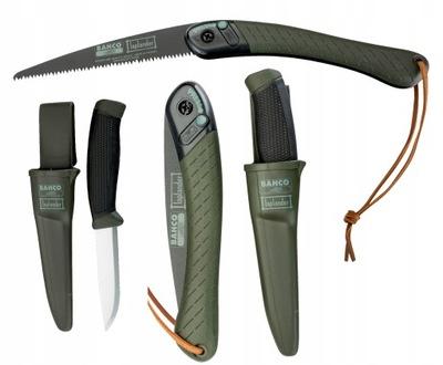 BAHCO Zestaw LAPLANDER piła składana nóż LAP KNIFE