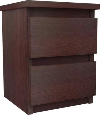 тумба 2szuflady столик rtv комод Венге