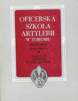 Oficerska Szkoła Artylerii w Toruniu 19230-1992