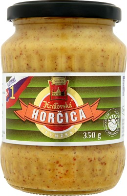 Horcica Kralovska Горчица kremska 350 ?