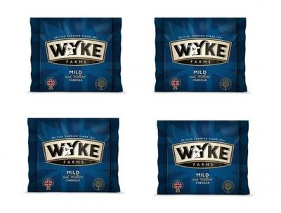 ??? Чеддер Wyke Mild порция 4 штук по 200г.