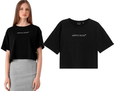 T-shirt damski 4F TSD026 crop top oversize M