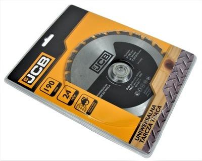 JCB Универсальная диск режущая 190мм T24 30 /20 /16 мм