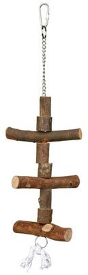 TRIXIE Drewniana zabawka dla ptaków 40cm TX-5870