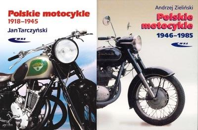 Polskie motocykle x2 KOMPLET 1918-1945 + 1946-1985