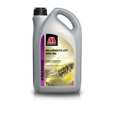 MILLERS OILS MILLERMATIC ATF SP III WS SYNTH 5L