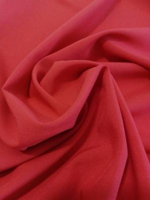 Materiał na podszewkę z lycrą kolor czerwony 0,5mb