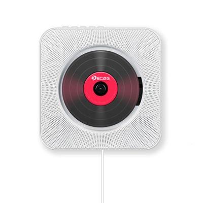 Ścienny odtwarzacz CD Radio FM Bluetooth USB MP3