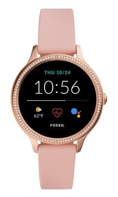Smartwatch Fossil Gen 5E FTW6066 różowe złoto 42mm