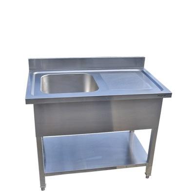 раковина  стол бассейн гастрономический Нержавеющая сталь 100