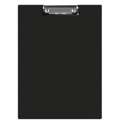 Clipboard teczka PVC A5 czarny podkład z klipem