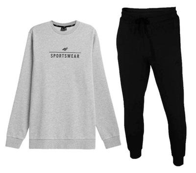 Zestaw męski sportowy 4F bluza spodnie dresowe 2XL