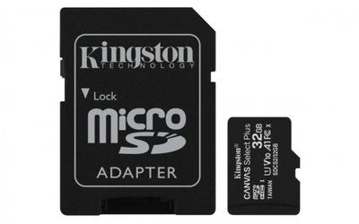 KARTA PAMIĘCI KINGSTON 32GB MICROSDXC SD ADAPTER