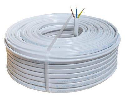 Przewód kabel płaski YDYp 3x1,5 750V 100m