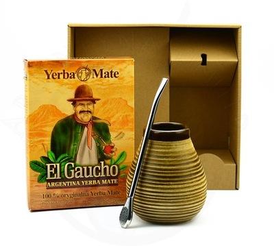 ZESTAW YERBA MATE EL GAUCHO 150G