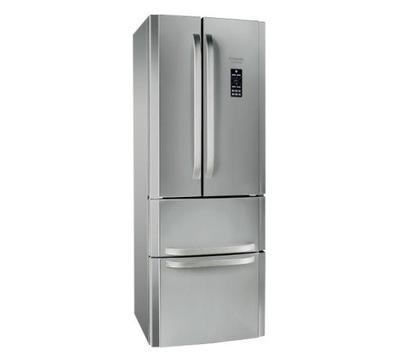 СЕРЕБРЯНАЯ холодильник Hotpoint-Ariston E4DG AAA X O3  ++