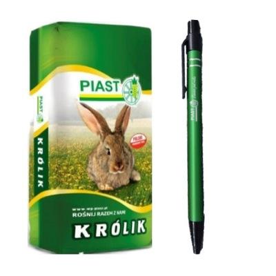 Pasza karma dla królików KRÓLIK TUCZ 25kg PIAST