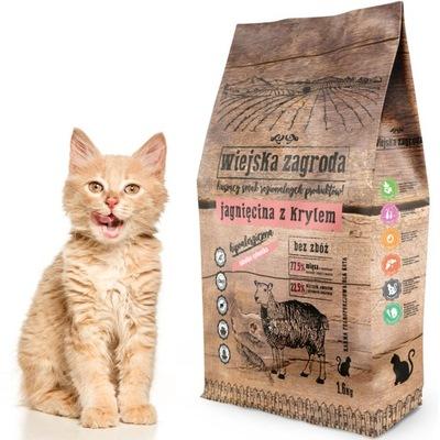 KRAJINA Farma mačka Jahňacie s Krill 1,6 kg