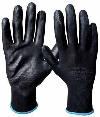 перчатки защитные ? -GLOVE ЧЕРНЫЙ-черные 1para 7 /S