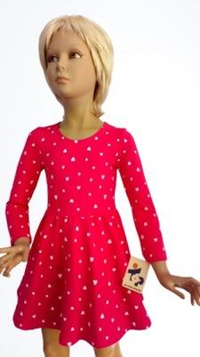 Sukienka KAMILA rozmiar 110 marki TOP .