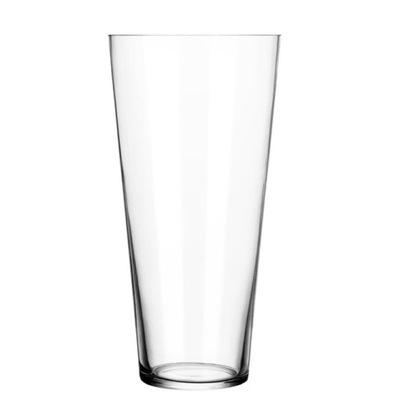 Wazon szklany konisz 50 x 17 cm szlif