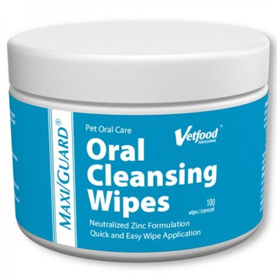 Vetfood MAXI/GUARD Oral Cleansing wipes 100 szt.