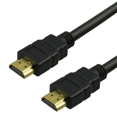 055 ZŁOTY KABEL HDMI-HDMI 3m v1,4a 3D 4K HD DVBT