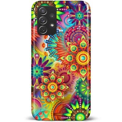 Etui WZORY do Samsung Galaxy A52 / A52 5G + SZKŁO