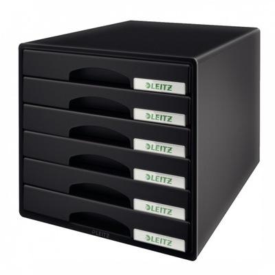 Pojemnik Leitz Plus 6 szufladami do dokumentów A4
