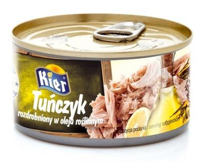 Tuńczyk sałatkowy w oleju roślinnym 170g Kier