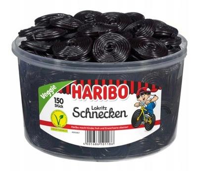 Haribo Żelki Schnecken Lukrecja 1,5kg