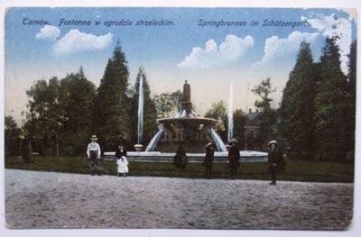 Pocztówka Tarnów, OGRÓD STRZELECKI, sprzed 1918