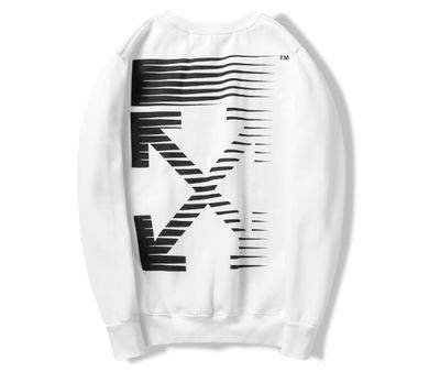 Bluza Off-White Special Edition Modna Biała L