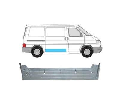 REPERATURA ДВЕРЬ VW TRANSPORTER T4 09.90-