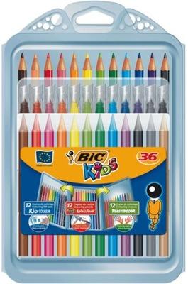 Sada: Ceruzky Sviečky Značky BIC
