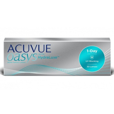 Soczewki ACUVUE OASYS 1-Day with HydraLuxe 30 szt.