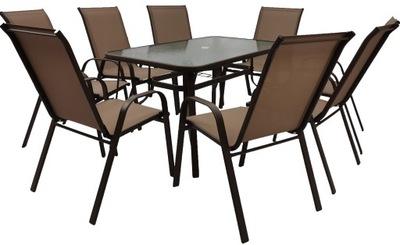 комплект МЕБЕЛИ стол 150x90 + 8 СТУЛ