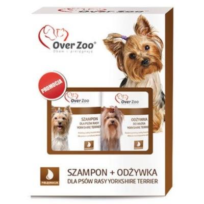 Over Zoo szampon + odżywka dla psów rasy York