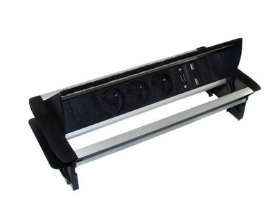 Tabuľka 3xAC Napájací Port, HDMI, 2xUSB