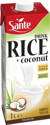 Напиток ryżowo-Instagram Sante без добавления сахара 1л