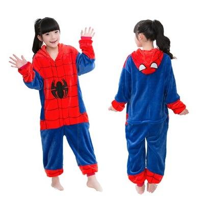 Spiderman KIGURUMI DRES piżama DZIECIĘCA 120