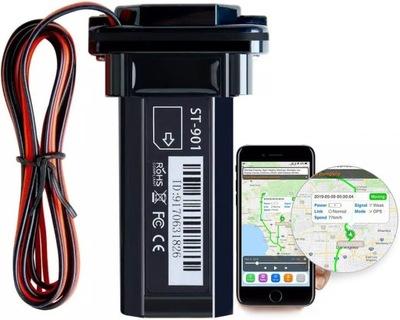LOKALIZATOR GPS POJAZDU SIM TRACKER BATERIA