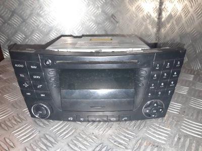 RADIO CD NAVI MERCEDES W211