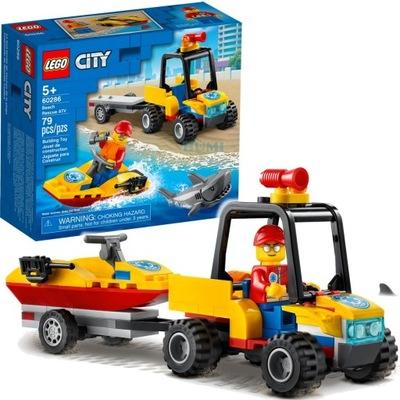 LEGO 60286 Quad ratunkowy + Rekin PEWNI SZYBKO