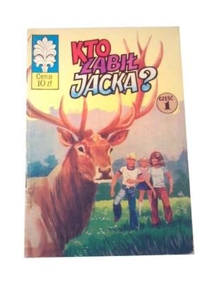 KAPITAN ŻBIK KTO ZABIŁ JACKA? wyd. 1 1976 r.