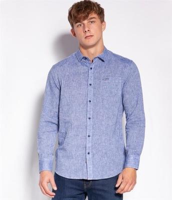 Lee Cooper Koszula Regular HILL 0337 BLUE M