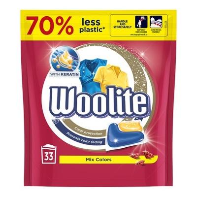 Woolite Mix Colors Kapsułki do Prania kolorów 33