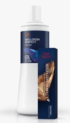WELLA KOLESTON PERFECT ME+ FARBA 60ml + WELLOXON