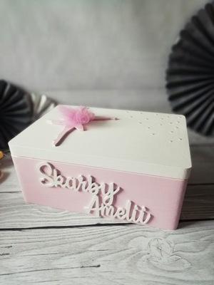 коробка на сокровища ребенка с балериной ДЕВОЧКА